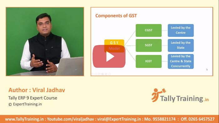What is CGST SGST IGST in Tally ERP9